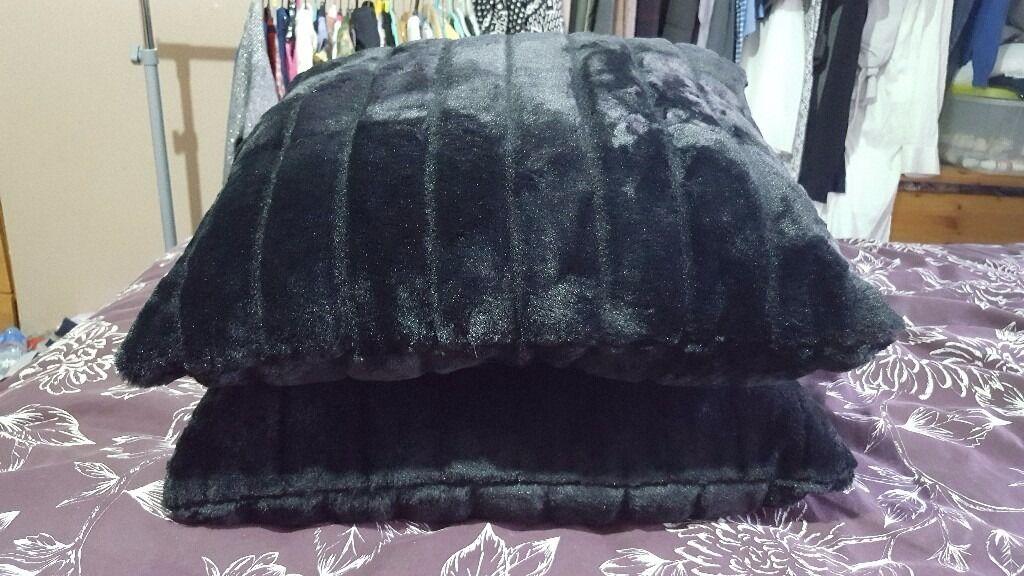 Brand new black cushion £15