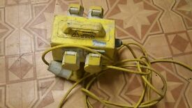 110v transformer extensin wire