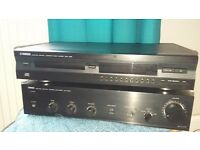 yamaha amp/plus cd player /plus free speakers