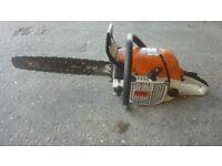 Stihl large 67cc professional chainsaw
