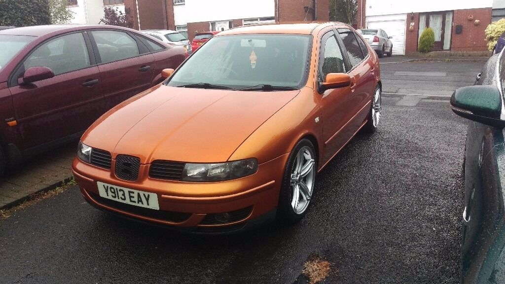 seat leon cupra 2001 modified please read in newtownabbey county antrim gumtree. Black Bedroom Furniture Sets. Home Design Ideas