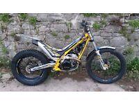 Sherco trials bike. 300, 2014. Little use