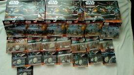 Large amount of star wars micromachines £70 or sensible offers