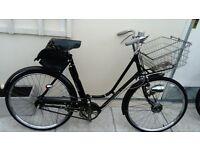 """Vintage BSA ladies bicycle 20"""" frame"""