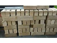 Buff walling stone for sale brand new