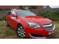 2014 (63 reg) Vauxhall Insignia 2.0 Cdti Design Sport Estate, Satnav, 157,000 miles, FSH, £30 Tax