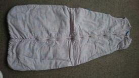 Pink Grobag Baby Sleeping Bag 6-18 Months 2.5 Tog