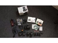 Canon 60D + 2 lenses and other accessories