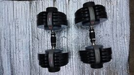 Item picture Bodymax Selectabell Dumbbell Pair 5kg - 32.5kg (11lb-71lb)
