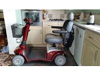 Airo Plus, Red Electric Mobility Scooter