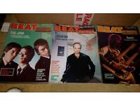 9 x BEAT INSTRUMENTAL MAGAZINE 1977 / 1978