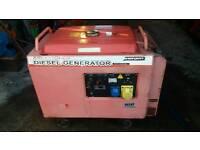 Diesel generator DEL 5000SL