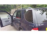 Mercedes ml 320 petrol 12months MOT