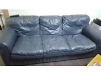 Free Leather Sofa Set