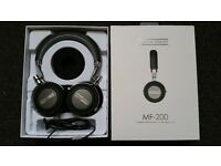 """High End - HEADPHONES with MIC - from """"Musical Fidelity"""" model M-200 (RRP £275) - GRAB A BARGAIN!"""