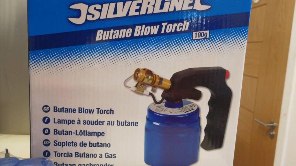 Butane blow torch 190g