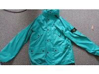 Stone Island Large green membrana TC lightweight jacket £50
