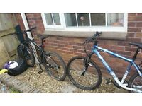 bikes for sale. some work needed