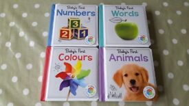 Baby's First Books - Set of 4
