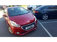 2012 PEUGEOT 208 ACCESS+NEW SHAPE 1.2 Petrol 3dr -ONLY 41k 84 BHP -with FSH-MOT DRIVE EXELENT