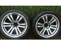 20inch alloy wheels 6 stud suv