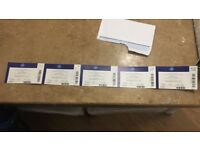 Bellew v Haye 2 - Boxing Tickets (5 together)