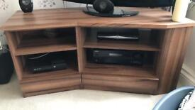 Tv cab and coffee table