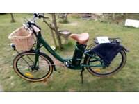 Free go electric regency bike