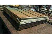 used fencing £5 each panel