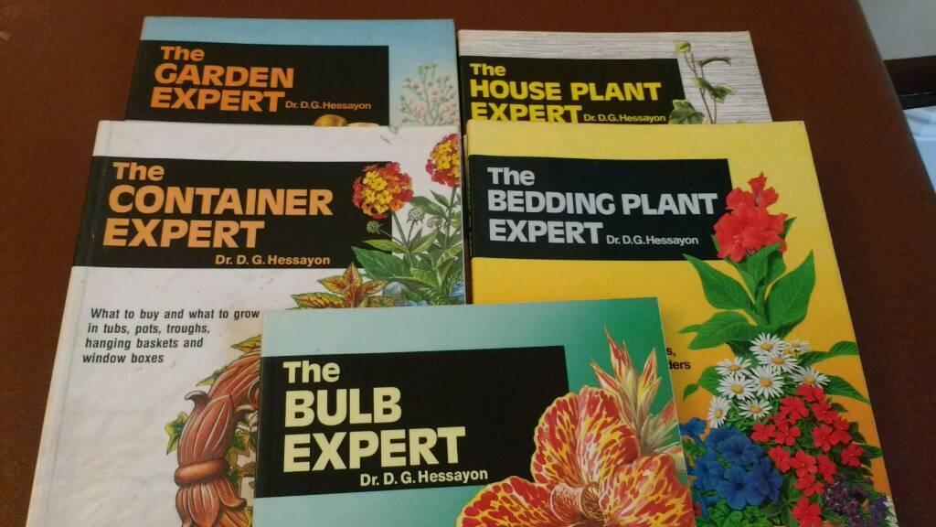 5 gardening books