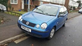 Volkswagen polo 3 door 1.2 petrol manual