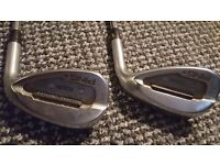 Ping and Cleveland wedges