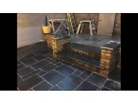 Natural Stone Paving - 15 square metres