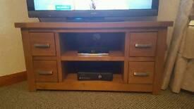 TV Unit Solid oak