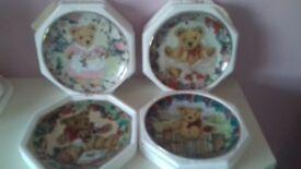 Franklin Mint Teddy Bear Plates