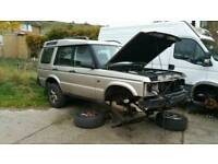 Landrover discovery 2 Breaking