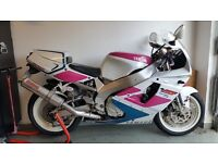 Yamaha YZF750R in need of light cosmetic restoration or just enjoy