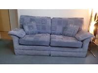 Sofa, Armchair & Pouffe.