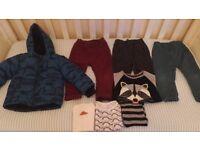 Baby Boys Clothes Bundle 18 -24 montths