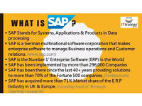 EARN UPTO £450 PER DAY, GET TRAINED IN SAP