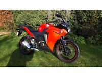 Honda CBR 125, 12 months Mot, low miles, free delivery & warranty