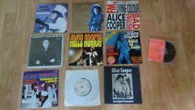10 x alice cooper vinyls / rare promo cd collection