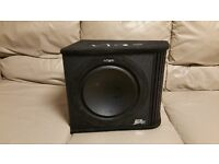CAR ACTIVE SUBWOOFER VIBE SLICK 1200 WATT 12 INCH AMPLIFIED BASS BOX WITH BUILT IMONOBLOCK AMPLIFIER