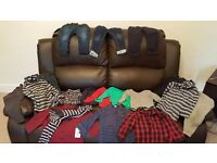Bulk Lot of Baby Boy Clothes - 50 items for Autumn/Winter
