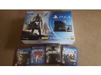 Playstation 4 500GB + Fallout 4, Call of Duty: Infinite Warfare, AC Unity and Knowledge is Power