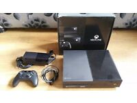 XBOX ONE 1TB BLACK CONSOLE PLUS CONTROLLER - WITH 1 GAME - FULLY BOXED - ISLINGTON AREA - £140!!!!!