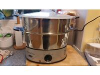 Stainless Steel 2-Tier Electric Steamer Anthony Worrall Thompson / Breville
