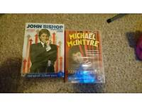 John Bishop and Michael McIntyre dvds