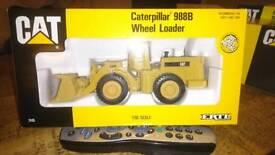 Metal die-cast caterpillar 988D wheel loader