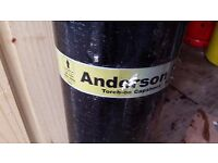 Anderson torch on cap sheet